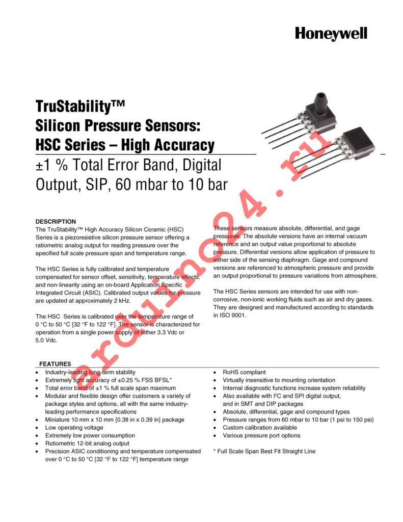 HSCSAND010BC3A5 datasheet