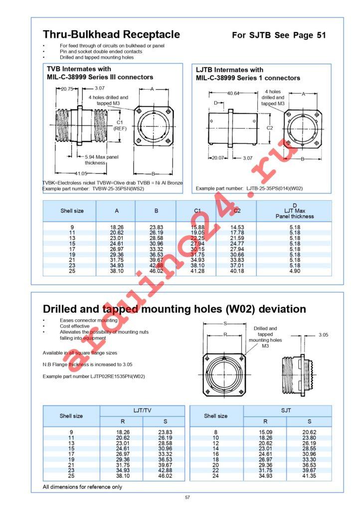 D38999/20WE6SN datasheet