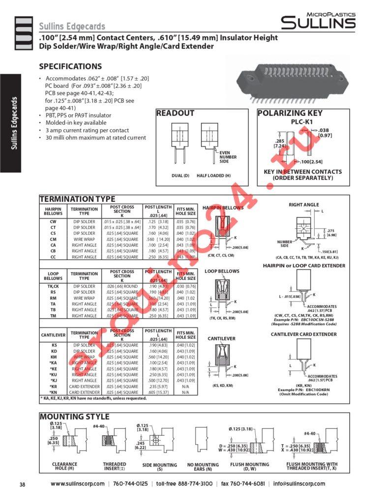 ECC28DCMT-S288 datasheet