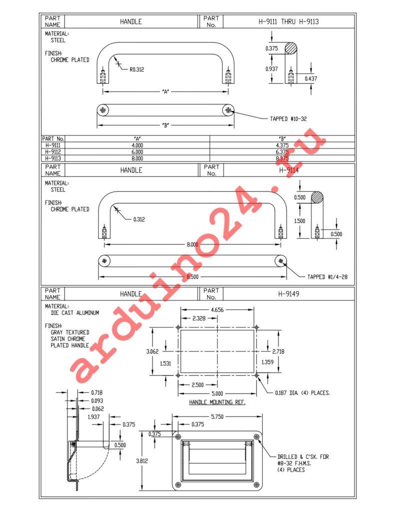 H-9111-B datasheet
