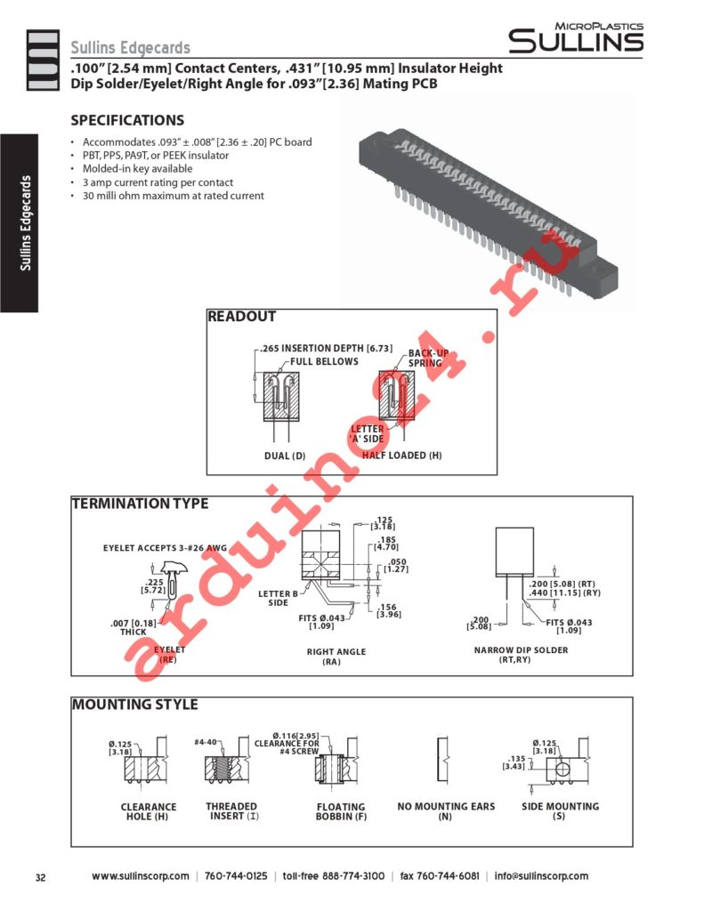 HSC20DRYN-S93 datasheet