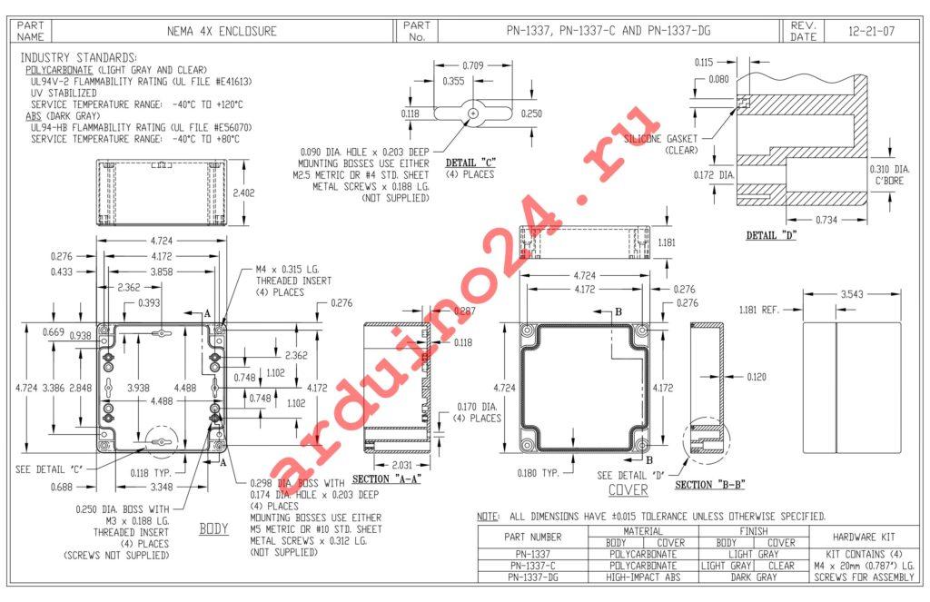 PN-1337-C datasheet
