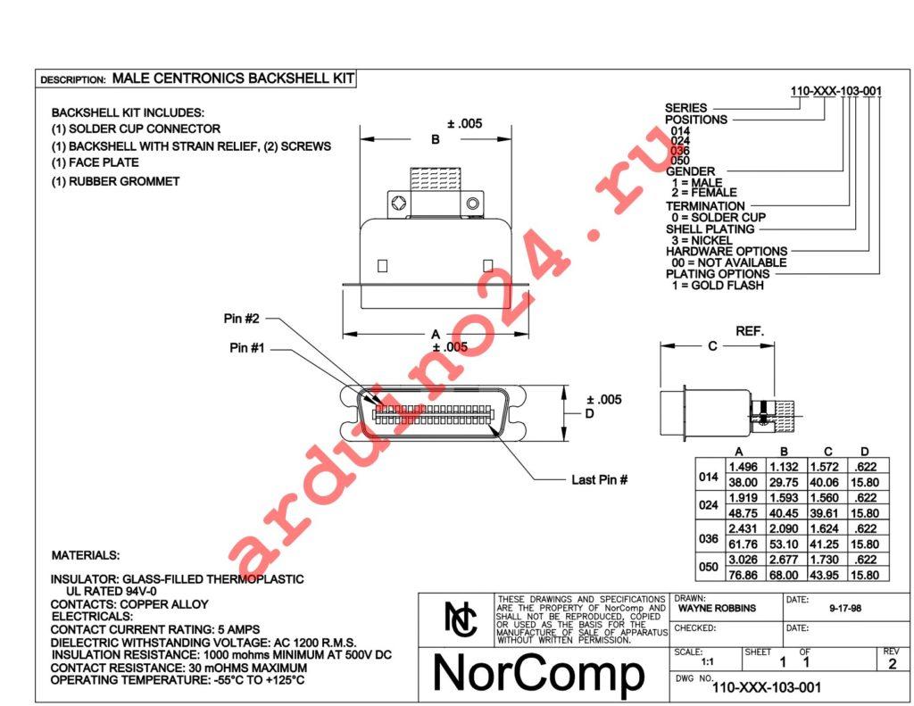 110-050-103-001 datasheet