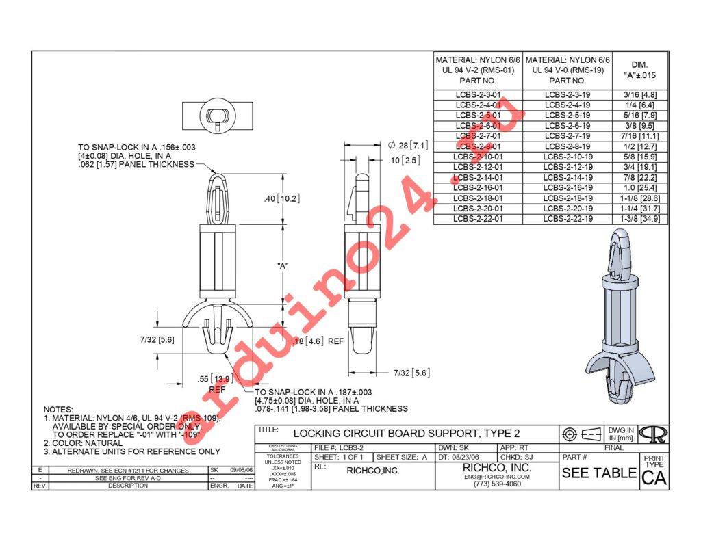 LCBS-2-10-19 datasheet