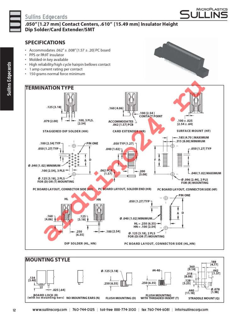 RCB95DHFD datasheet