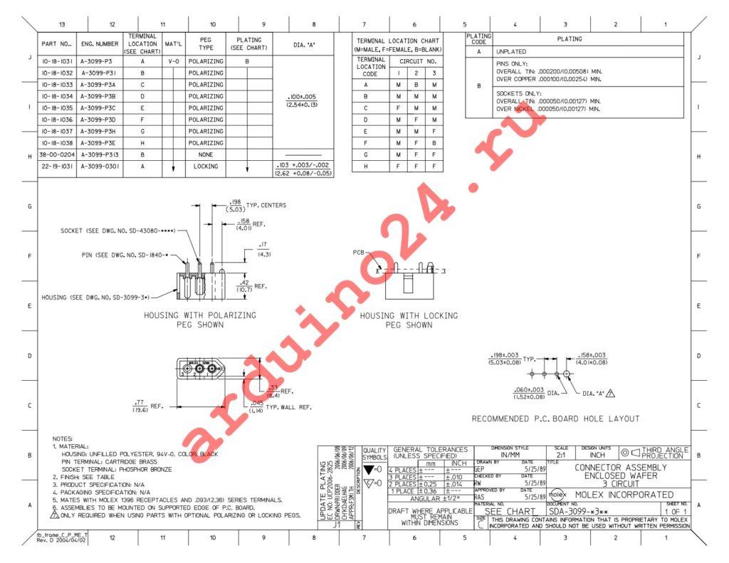 10-18-1032 datasheet