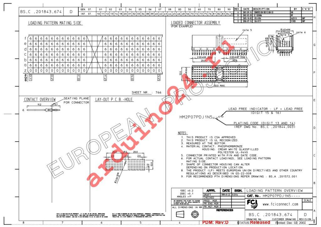 HM2P07PDJ1N5N9LF datasheet