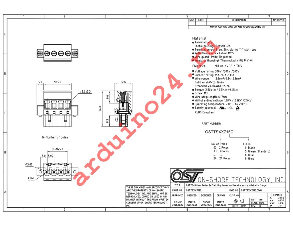 OSTTS07715C datasheet
