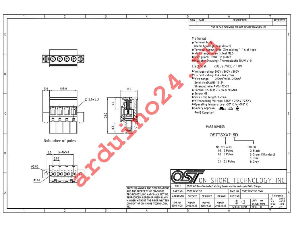 OSTTS07715D datasheet